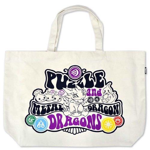 Puzzle & Dragons Big Tote Bag (Metal Drago) (Giappone import / Il pacchetto e il manuale sono scritte in giapponese)