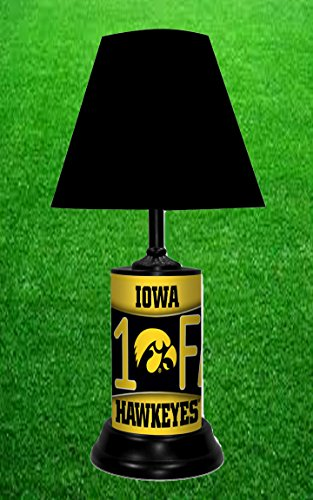 Iowa Hawkeyes Lamp - TAGZ Sports Iowa Hawkeyes NCAA LAMP