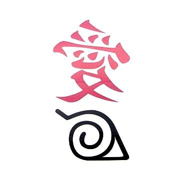 Naruto Hokage Ninjia arte corporal temporal para mujeres hombro ...
