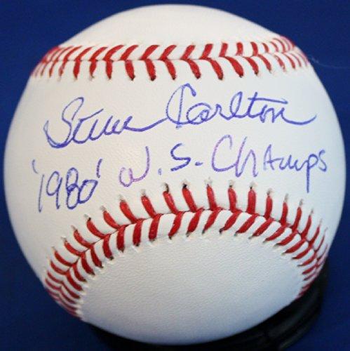 Autographed Steve Carlton