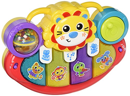 Playgro 6385508 Lion Activity Kick Toy for Baby