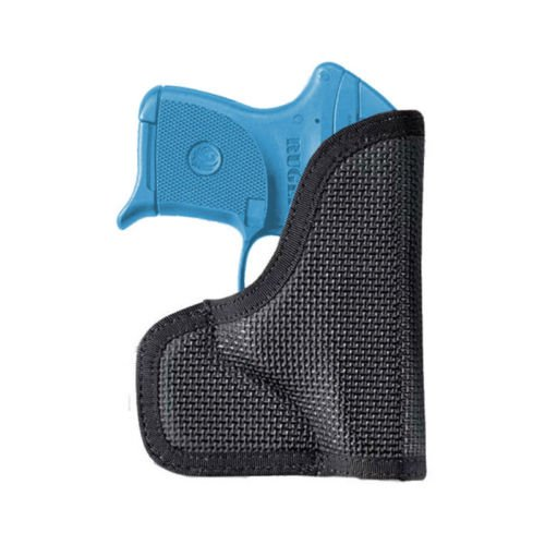 Nemesis Pocket Holster, Fits Glock 43, Kahr PM9/PM 40/MK9/MK40, Ambidextrous, Black