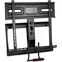 "VIVO Counterbalance Above Fireplace Height Adjustable Swivel Gas Spring TV Pull Down Mantel Wall Mount for LCD LED Plasma Screen 43"" to 70"" (MOUNT-VW70G)"
