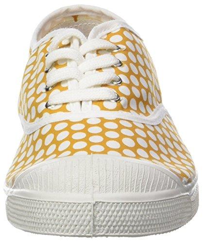 Bensimon Tennis Lacet Femme Colorspots Baskets Jaune pFSnpwRBq