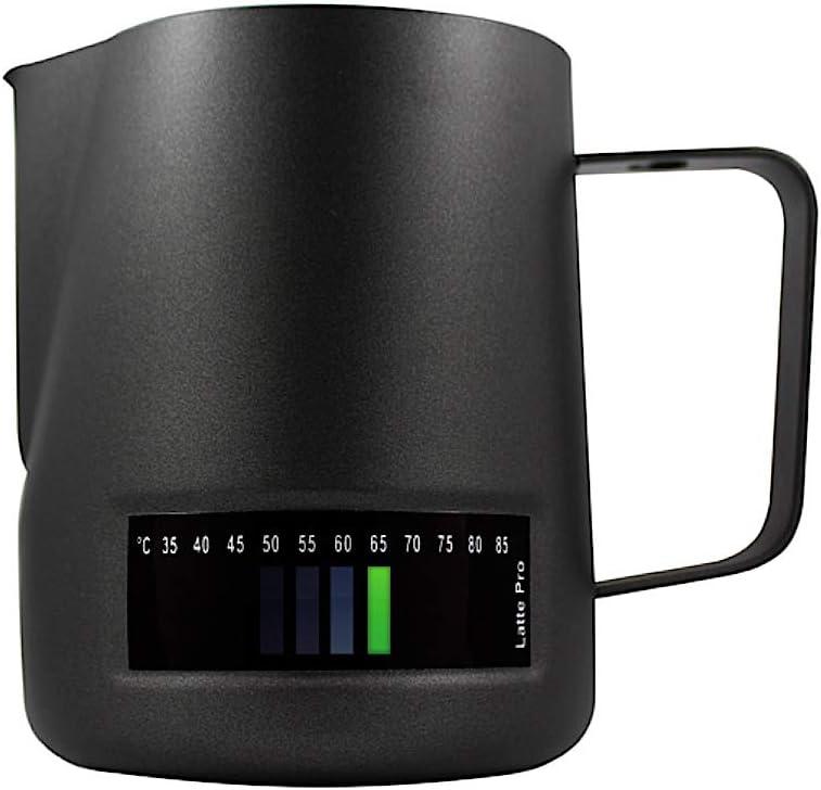 Andronicas Latte Pro Black Temperature Control Milk