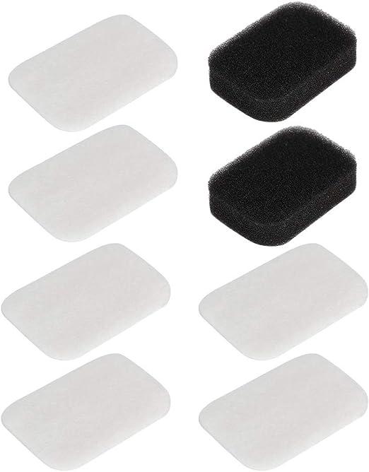 Wytino Filtro de partículas de algodón, Filtro de partículas de algodón Ultrafino para respirador DV54/55/56/57: Amazon.es: Hogar