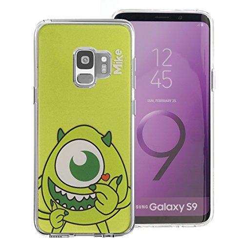 Galaxy S9Fall, Disney Cute Soft Jelly Cover für [Galaxy S9(14,7cm)] Fall Heart Pooh (Galaxy S9) Color Mike (Galaxy S9)