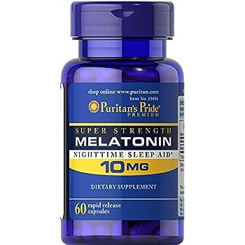 Puritans Pride Melatonin 10 mg-60 Capsules