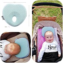 Baby Pillow Preventing Flat Head Syndrome, Head Shaping for Infant, Peacefuly Sleep for New Born, Cute Breathable and Soft Cover