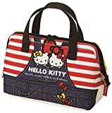 Skater Insulated Coin type lunch bag Hello Kitty Denim KGA1 from Japan