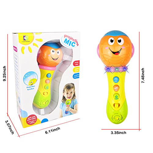 SUGOO Baby Toys 6-18 Months, Toy Microphone for 1-3 Year Old Baby Boy Girl Toy 9-12 Months Toddler Microphone for Kids Gifts for 3-24 Months Baby Toy for 2 Year Old Boys Girl Birthday Gift