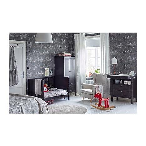 Amazon.com: IKEA SUNDVIK – Cuna, café: Baby