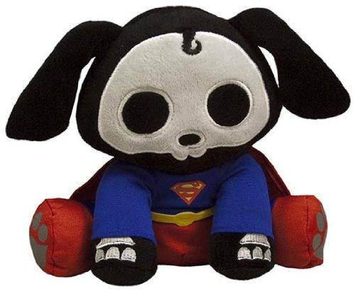 Superman Secret Identity Costume (Toynami Skelanimals DC Plush - Superman Dax)