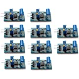 Optimus Electric 10pcs Tilt Angle Sensor Module 3.3V or 5V with Digital Output, LM393,Adjustable Threshold and LED Indicator for Arduino Smart Car from