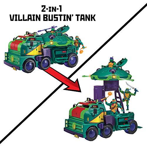 Rise of the Teenage Mutant Ninja Turtles vehículo Tanque de ...