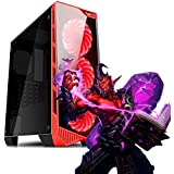 Pc Gamer Intel Core i5 9ª Geração, 16GB RAM DDR4, HD SSD 480GB, RX 570 8GB, Fonte 500w, Gabinete com LED