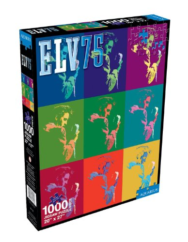 Elvis Presley ELV75 Collage Jigsaw Puzzle