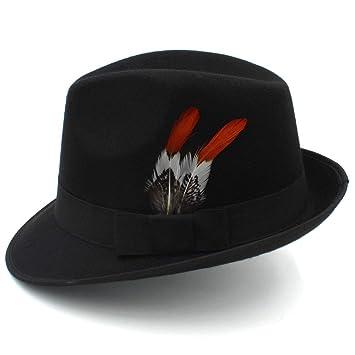 Sombrero de Jazz para Caballero Sombrero de Lana para Caballero ...