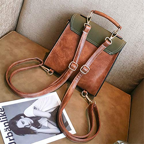 Backpack Leather Belts 20cm10cm21cm Women Red Red Bag Backpack Pu pZqqdwf