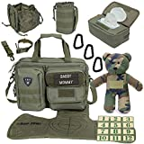 Tactical Baby Gear Full Load Out 2.0 Tactical Diaper Bag Set (Ranger Green)