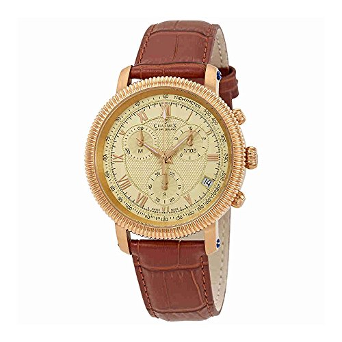 Charmex President II Gold Dial Mens Watch 2987 (Champagne Gold President Dial)