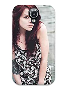 New Style 9648332K85847261 New Premium Flip Case Cover Mood Skin Case For Galaxy S4