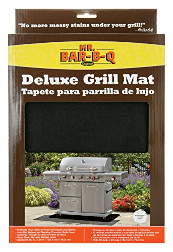 Mr. Bar-B-Q, Inc. 40124X Large BBQ Grill Mat, 30-Inch by 60-Inch