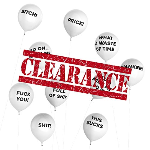 (Thick Air Balloons - Funny Adult Humour Balloons for Party 10-Pack - General)