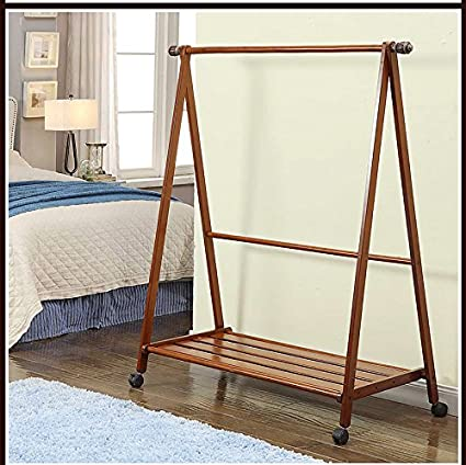 Amazon.com: Multipurpose Wooden Coat And Shoe Rack, Garment ...