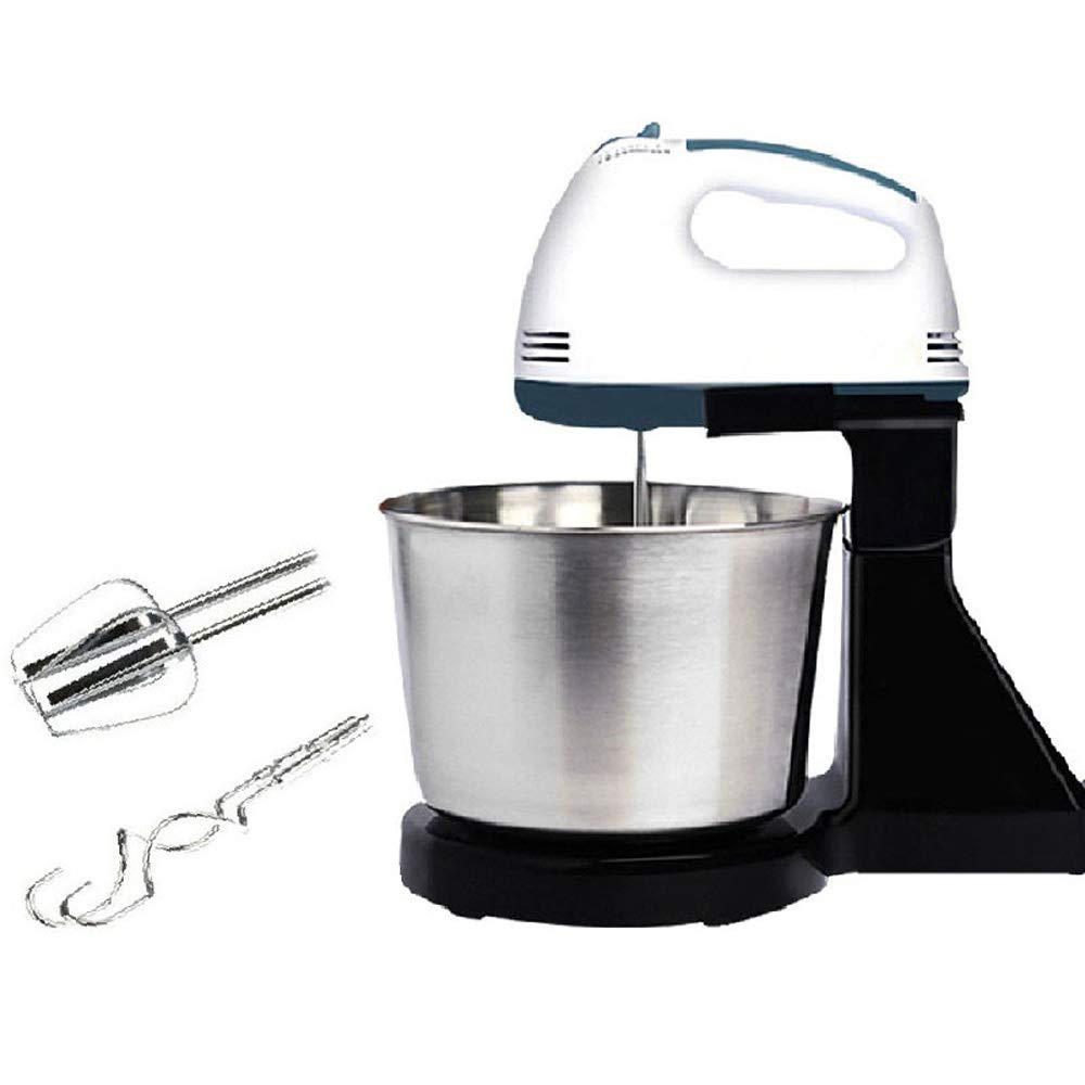 QWERTOUY Electric Food Dough Mixers Desktop Home Small Egg Beating Mixing Stirring Machine by QWERTOUY