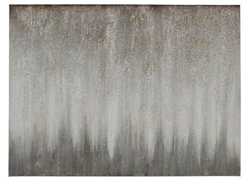 Ashley A8000252 Paytah Wall Art, Silver Finish ()