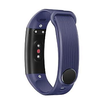 Deesee Bracelet en silicone pour montre connectée Huawei Honor 3 55cm x 72cm bleu marine