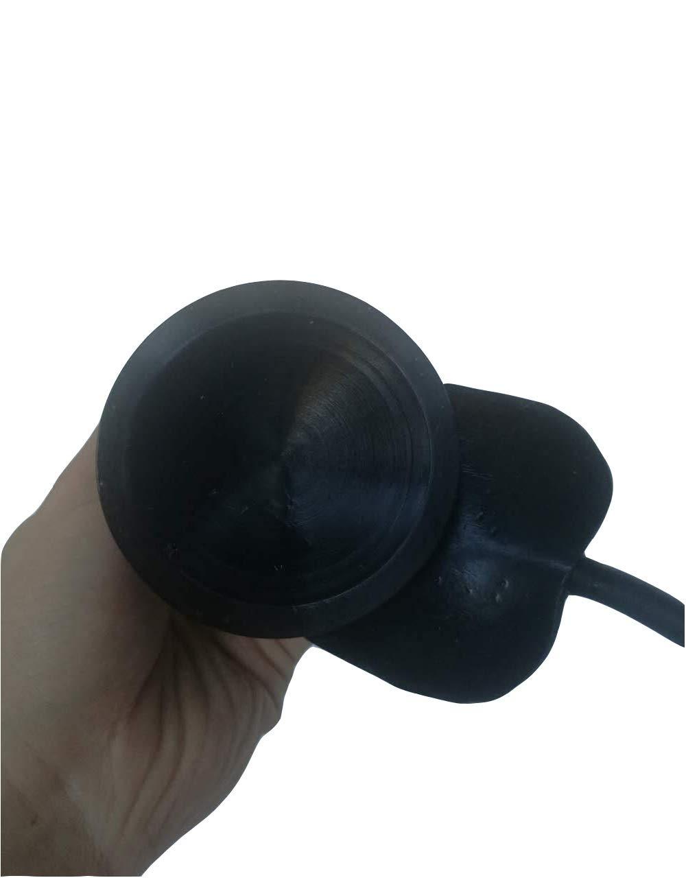 KZKZDZT Liszh 8in Inflatable Oversided S-t-ǐ-mǔ-láté Soft Wand Liszh (Color : Black)