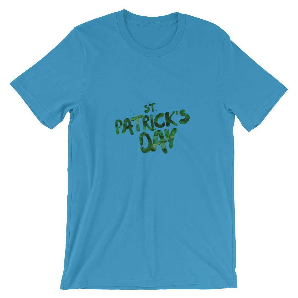 primeitemsstore St Patricks Day Irish Short-Sleeve Unisex T-Shirt Short-Sleeve Unisex T-Shirt Ocean Blue