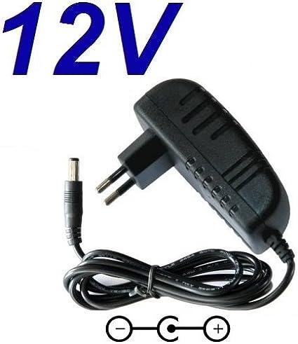 CARGADOR ESP ® Cargador Corriente 12V Reemplazo Altavoz TDK A33 Wireless Weatherproof Recambio Replacement