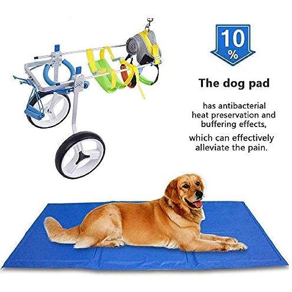 SehrGo Silla de ruedas para perros ajustable, Altura de cadera 7 ...