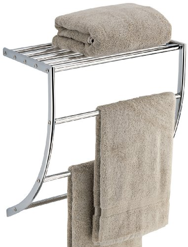 Neu Home Curved Towel with Shelf