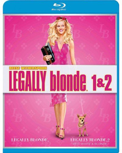Legally Blonde 1 & 2 Blu-ray