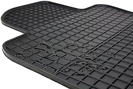 Kfzpremiumteile24 Gummimatten Kompatibel Mit Kodiaq Ns Baujahr Ab 2017 Premium Fußmatten Allwetter Gummi Schwarz 4 Teilig Auto