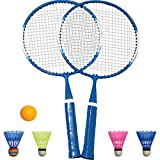 TINTON LIFE 1 Pair Badminton Racket for Children Indoor/Outdoor Sport Game