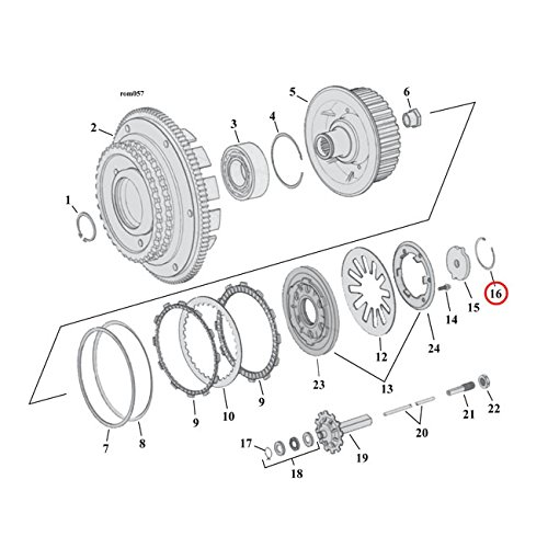 Mcs Retaining Ring Clutch Adj Plate