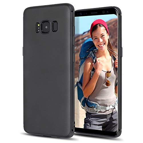 Slim Armor CS Galaxy S8 Case with Slim Dual Layer Wallet Design and Card Slot Holder for Samsung Galaxy S8 (2017) - Black