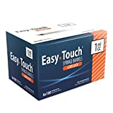 #4: EasyTouch 1ML Luer-Lock Syringe Barrel Only (100 syringes)