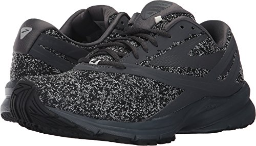 Brooks Mens Launch 4 Nero / Grigio