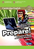 img - for Cambridge English Prepare! Level 6 Student's Book and Online Workbook book / textbook / text book