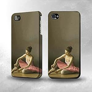 Apple iPhone 4/4S Case - The Best 3D Full Wrap iPhone Case - Ballet