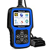 NEXAS NL101 Car Code Reader Automotive Diagnostic Tool Check Engine Light Obd2 Scanner Fault Code Scanner with Battery Test