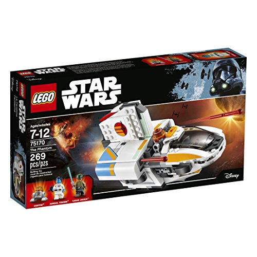 [LEGO Star Wars The Phantom 75170 Building Kit (269 Pieces)] (Star Wars Chopper)