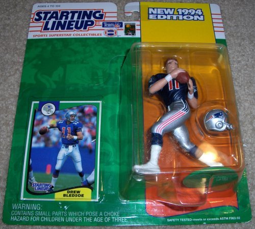 1994 Drew Bledsoe NFL Starting Lineup