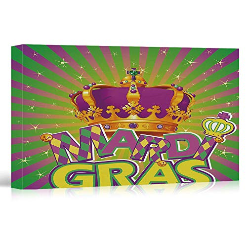 Artwork - Mardi Gras - Pictures Printed on Canvas Wall Art